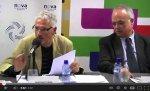 El jutge Santiago Vidal en un acte de l'ANC, donant arguments jurídics del tribunal de La Haya