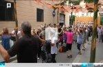 Ambient de Festa Major als carrers de Sants