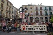 Esquerra es solidaritza amb els treballadors de Gandia Televisió