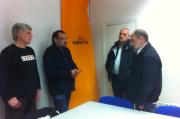 Reunió amb Intersindical Valenciana