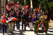 Acte al cementeri general de València