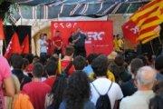 Acte polític central de la 17à edició de l'Acampada Jove